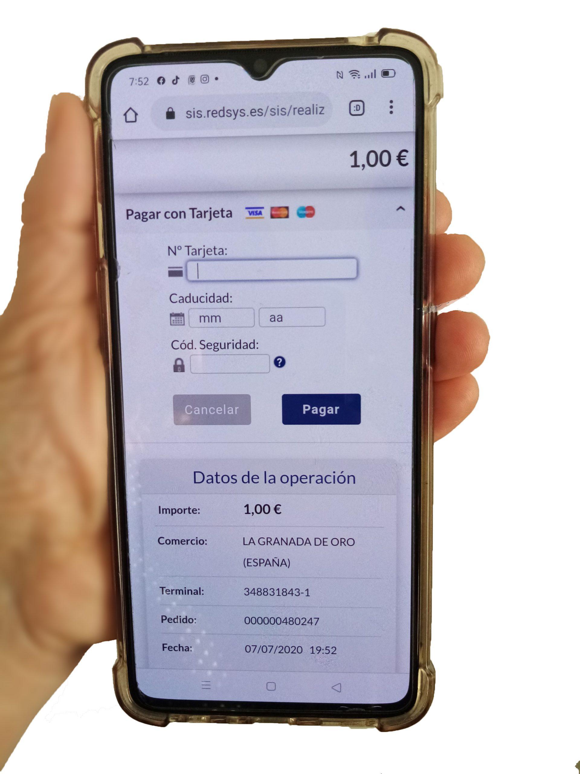 Comprar loteria online y pagar con tarjeta de credito