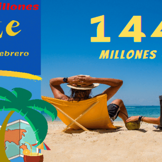 Bote 144 millones de Euros Sorteo Euromillones martes 9 febrero
