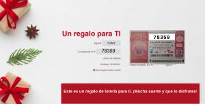 Tarjeta regalo de lotería online