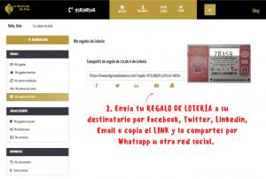 Tarjeta Regalo Lotería Online